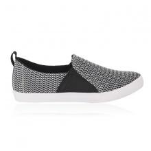 Giày lười nam Sutumi F158 - đen trắng