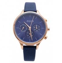 Đồng hồ nữ Julius Hàn Quốc 6 kim JA-952 (xanh đen)