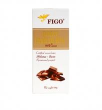 Kẹo socola đen đắng 100% cacao Figo 100gram