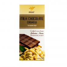Kẹo socola hạt điều thanh Figo 100gram