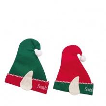 Nón nỉ Noel có 2 tai 29x34cm_XB1405-Giao ngẫu nhiên