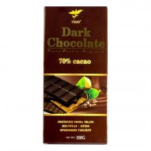 Kẹo socola đen đắng 70% cacao Figo 100gram