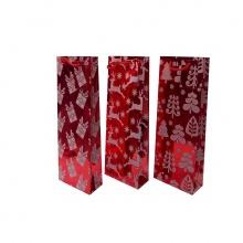 Túi kim tuyến màu đỏ đựng chai_XB3200-Giao ngẫu nhiên