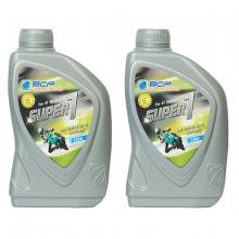 Combo 2 chai nhớt Thái Lan nhập khẩu cho xe số BCP SUPER 1 - SAE 15W40 - API SL - JASO MA2 -  1L