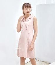 Đầm ôm bâu danton - AD180146