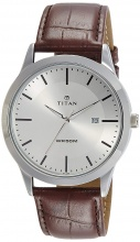 Đồng hồ nam  Titan 1584SL03 dây da