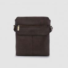 Túi đeo chéo nam phom vuông Idigo MB2-325-00