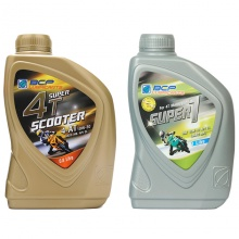 Combo nhớt xe tay ga BCP Thái Lan nhập khẩu – Super 1 – 10W30 SL – 0.8 Lít + nhớt Thái Lan nhập khẩu cho xe số BCP Super 1 - Sae 15W40 - API SL - JASO MA - 1L