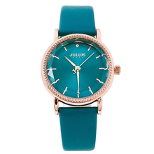 Đồng hồ nữ Hàn Quốc Julius JA-1012B xanh ngọc