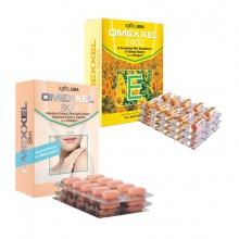 Bộ viên uống bổ sung Vitamin E, giảm thâm nám Omexxel E400 & Skin 60 viên - Xuất xứ Mỹ