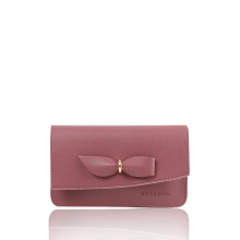 Túi thời trang Verchini màu hồng ruốc 010943