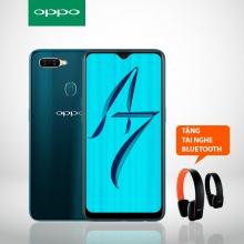 OPPO A7 64GB - Tặng tai nghe bluetooth