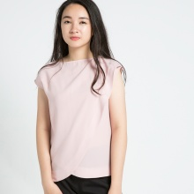 Áo đắp vạt Hity TOP090 (hồng anh đào sakura)