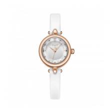 Đồng hồ nữ Julius Hàn Quốc dây da JA-1080A trắng