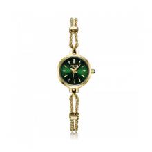 Đồng hồ nữ Julius Star Hàn Quốc dây thép JS-019B vàng