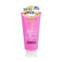 Sữa rửa mặt chống lão hóa Senka Perfect Whip Collagen In 120gr - Nhật Bản