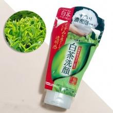 Sữa rửa mặt trắng da trị mụn trà xanh Rohto Shirochasou Green Tea 120ml - Nhật Bản