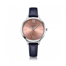 Đồng hồ dây da nữ Julius Hàn Quốc JA-1125C xanh dương