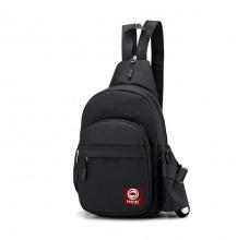Túi đeo chéo kết hợp balo thời trang Haras HR225 (Đen)