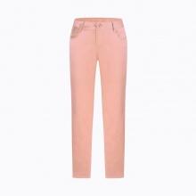 Quần jean nữ dáng dài trơn màu hồng Hàn Quốc Orange Factory EQP9L348 WSP 27