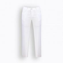 Quần jean nữ dáng dài trơn màu trắng Hàn Quốc Orange Factory UEP9L348 WSW 26