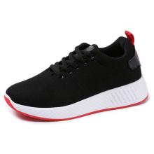 Giày nữ thể thao vải mềm sneaker đen