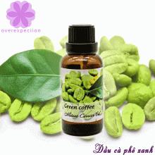 Dầu nền cà phê xanh - Green coffee carrier oil