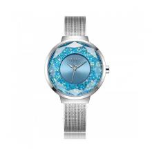 Đồng hồ Julius Hàn Quốc JA-1111A dây thép bạc