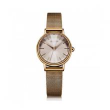 Đồng hồ nữ dây thép nhuyễn Julius Hàn Quốc JA-1120E nâu