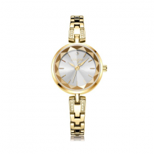 Đồng hồ nữ Julius Hàn Quốc dây thép JA-1103B vàng