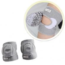 Đệm bảo vệ đầu gối chân cao cấp Qsupport - Xám size L
