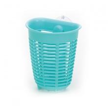 Giá để giẻ rửa bát hình rổ dáng sâu màu xanh - Nội địa Nhật Bản