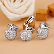 Bộ trang sức bạc Cute Apple