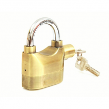 Ổ khóa báo động chống trộm Kinbar 110DBA (Vàng)