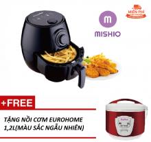 Nồi chiên không dầu Mishio MK01 + Tặng nồi cơm
