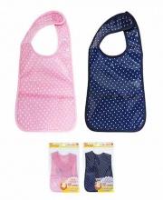 Yếm ăn dặm bằng nhựa chống thấm cho bé - Nội địa Nhật Bản