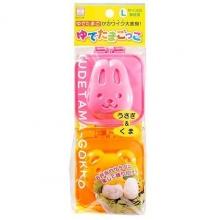 Khuôn tạo hình cơm, trứng hình gấu và thỏ - Nội địa Nhật Bản