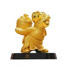 Quà tặng đối ngoại: Tượng heo vàng phát tài – THVPT01