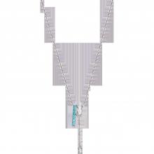 Dây cổ bạc đính đá Swarovski PNJSilver Radiance of Joy XMZTK000004