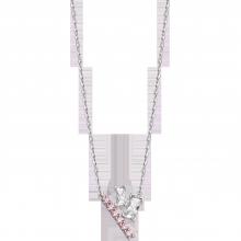 Dây cổ bạc đính đá Swarovski PNJSilver Radiance of Joy XMZTK000006