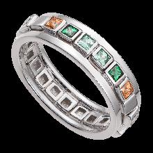 Nhẫn bạc mix đá Swarovski PNJSilver Radiance of Joy ZTXMK000084