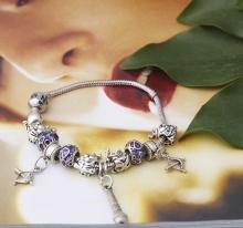 Opal - Vòng tay charm thiết kế tặng kèm một dây chuyền bạc mặt charm 250.000đ _T12