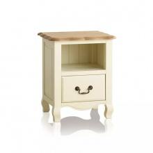 Tủ đầu giường 1 ngăn kéo Bella gỗ sồi