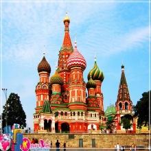 Tour: Sài Gòn// Hà Nội - Matxcova - St. Petersburg - Matxcova - Hà Nội// Sài Gòn 7 ngày 6 đêm bay VNA