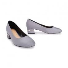 Giày cao gót mũi tròn đế vuông Girlie S31008