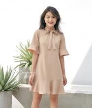 Đầm kiểu vạt xòe - AD180189