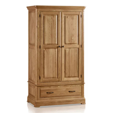 Tủ quần áo 2 cánh Canterbury gỗ sồi 1m0