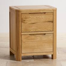 Tủ đầu giường Romsey 2 ngăn gỗ sồi