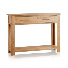 Bàn console Rivermead gỗ sồi