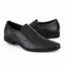 Giày da nam công sở IS186 màu đen